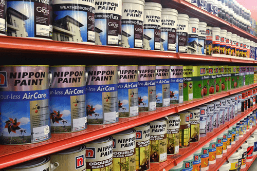 Nippon Paint generates 60% of its sales from Asia outside Japan