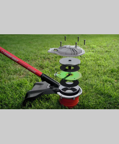 Grass Trimmer United Brush Cutter Weed Mower Parts Nylon Easy Install Outdooor Trimmer Lawn Mower Parts Easy Load Durable Universal Professional To Have A Long Historical Standing Tools